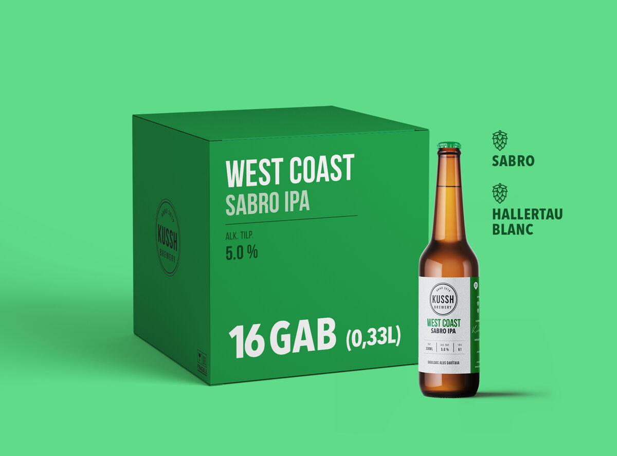 West Coast Sabro IPA (0,33 x 16gab)